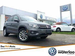 2014 Volkswagen Tiguan Comfortline - One Owner, Dealer Serviced!