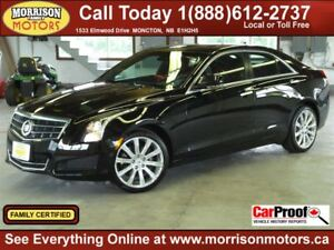 2014 Cadillac ATS 2.0T LUXURY PACKAGE AWD