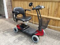 Mobility scooter bootmaster range by eden hardly used