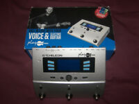 TC-Helicon / TC Helicon Play Electric Vocal and Guitar Multi-FX Processor , Vocalist. / USED !