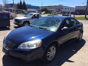 2009 Pontiac G6 ..very low km.. mint condition..1owner