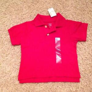 BRAND NEW WITH TAGS SIZE 12-18 MONTH COTTON POLO SHIRT
