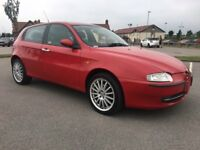 2005 Alfa Romeo 147 5 door Mot until April 2018 Good history cheap car