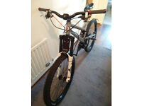 Mongoose Teocali full sus MTB medium 26inch bicycle