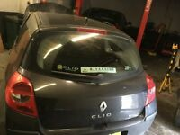BREAKING 2007 1.2 RENAULT CLIO CHEAP PARTS