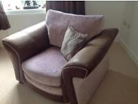 Double Sofa bed and armchair