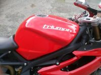 triumph daytona 675 excellent condition