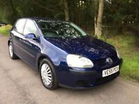 2005 VW Golf 1.9TDI S - Central locking, Heated Seats, Electric sunroof, CD player, Power steering.