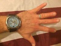 Diesel Man's Overflow Chronograph Watch