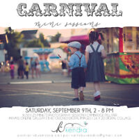 Carnival Photography sessions!