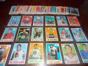 1970-71 O-Pee-Chee hockey cards