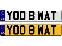 YOU ATE WHAT a cheap and cheerful private number plate for sale