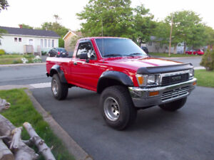 1991 Toyota Pickup DLX 4WD 4 Cylinder Automatic (Florida Truck)