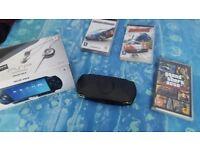 Hardly used boxed PSP
