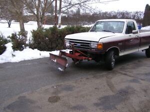 6 foot snow plow fits Ford F150