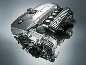Complete BMW N52B30 3.0 litre engine assembly