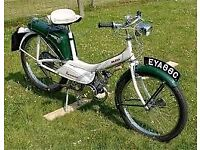 WANTED OLD MOPED OR BSA MOTORCYCLE FOR PROJECT