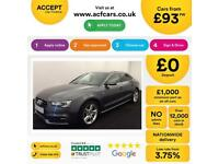 Audi A5 S Line FROM £93 PER WEEK!