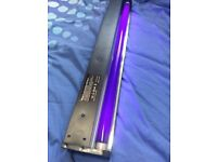 3 x UV Strip Lights Dark Lamp Glow in the Dark Neon 60cm