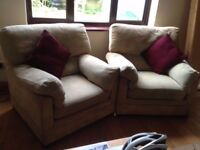 3 Piece Sofa set for £45 ( Used but in acceptable condition) Pick up only