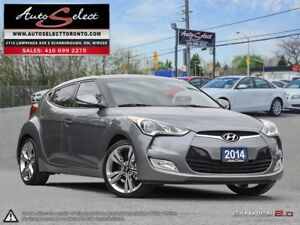 2014 Hyundai Veloster ONLY 49K! **6 SPEED** TECHNOLOGY PKG **...