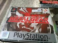 PlayStation 1 game METAL GEAR SOLID