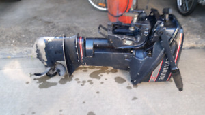 Outboard Motor 9.9 HP, 1989 Evinrude