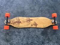 """Loaded vanguard longboard 38"""" Like New (boosted board range)"""