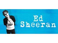 Ed Sheeran 2 tickets June 15th Wembley