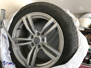 Michelin Winter Run Flats- Rim and Tires - Set of 4 - 245/50R18