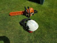 Stihl chainsaws 2 x MS 170