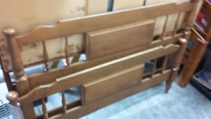 Double bed head and footboards