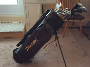 Golf bag  complete with all accessories