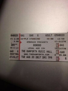 3 Tickets for BONOBO @ The Danforth Music Hall Aug. 29
