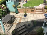Patio flagstones - no purchase charge if removed from back garden