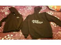 Abbey studios hoody age 5-6 & large youth