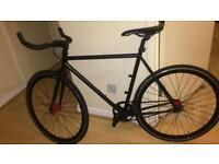 Black pedal Bike charge plug fixed gear