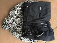 Trespass ski coat and trousers