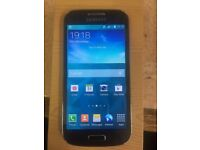 Samsung galaxy S4 mini unlocked black clour