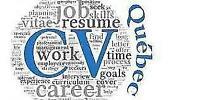 Rédaction professionnelle CV - lettre