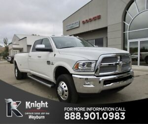 2017 Ram 3500 Longhorn NAV Heated/Cooled Leather