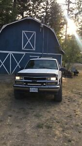 1998 chevrolet 1500 trades for diesel