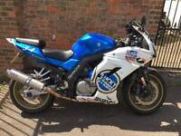 Suzuki SV650 Lucky Strike Race Rep Custom