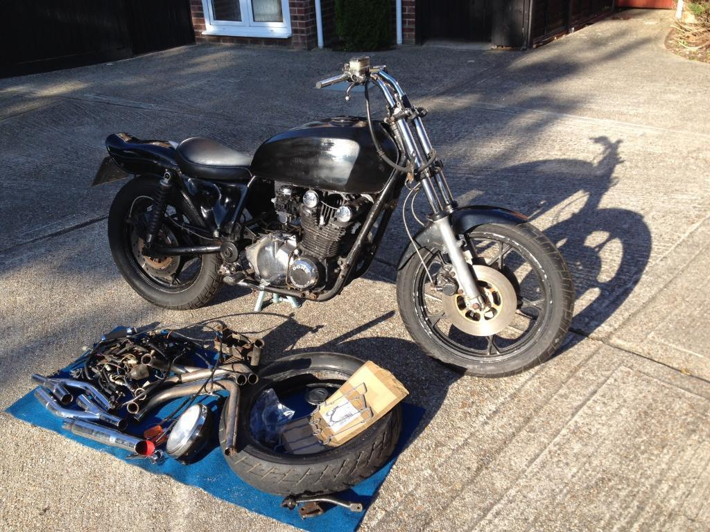 gs850 bobber project in hayling island hampshire gumtree