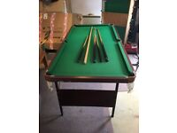 Child's snooker table