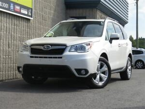 2015 Subaru Forester 2.5i Touring Package *80, 37$/sem, 0$ compt