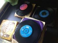"Vinyl 7"" singles records"