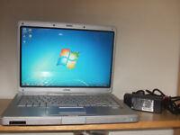 Hp Dual Core Laptop (wi fi and internet ready)
