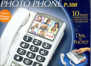 PHOTO PHONE built in AMPLIFIER Brand new,