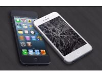 iPhone Cracked Screen Damage Repair - Home Collection and Delivery - speedy and quality service!
